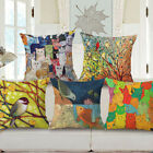 18'' New Country Planning Cotton Linen Pillow Case Sofa Cushion Cover Home Decor