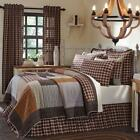 4PC RORY COUNTRY RUSTIC PRIMITIVE QUILT PILLOWS CASES BED SET VHC BRANDS