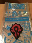 Video Game Merchandise - Booster Pack Badge Patches Blizzcon 2017 Overwatch Diablo Hearthstone Wow