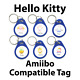 Amiibo Compatible Tag - Hello Kitty Animal Crossing Sanrio cards FULL SET OF SIX