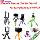 Flexible Mount Gekko Tripod For Smartphone,Action Camera & Compact Digital Blue