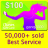 More images of  $100 APPLE US iTunes GIFT CARD voucher certificate FAST (USA iTunes Store)