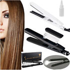 Professional Argan Oil Vapor Ceramic Flat Iron Steam Styler Hair Straightener