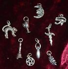 Sterling Silver Charms Pagan/Wiccan/Gothic