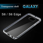 Soft Crystal Slim Gel TPU Clear Case Cover For Sumsung S6 S7 Edge S8 Plus Note8