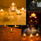 Clear Glass Bauble Candle Tea Light Holder Sphere Ball Shape Wedding Party Decor