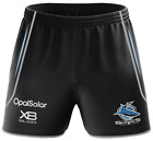 Cronulla Sharks 2018 Training Shorts Sizes S - 5XL XBlades NRL In Stock Now!!