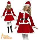 Miss Santa Claus Costume  Ladies Womens Sexy Father Christmas Fancy Dress Outfit