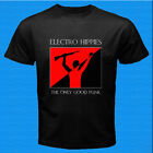 New Electro Hippies Band The Only Good Punk Men's Black T-Shirt Size S to 3XL