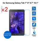 2PC Table Tempered Glass Screen Protector Film for Samsung Galaxy Tab Film Guard