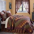 7PC HERITAGE FARMS COUNTRY FARMHOUSE QUILT SHAMS SKIRT PILLOWS BED SET VHC