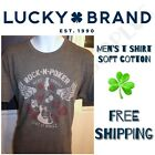 LUCKY BRAND Mens' Graphic Vintage Tee T Shirt - ALL SIZES - SALE image