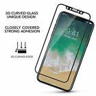 Full Coverage 3D Curved Tempered Glass Screen Protector for Apple iPhone X