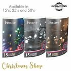 Christmas Tree Lights Battery Operated LED String Lights Indoor 15, 25, 50's