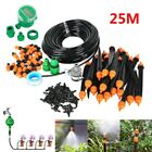 25m Auto/Manual DIY Garden Hose Watering Irrigation System Sprinkler Drip Timer