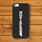 Mercedes Benz AMG Style Rigid Plastic Case Cover Shell for iPhone Car Logo style