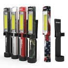 NEBO Big Larry 400 Lumen LED Work Light with Batteries Red,Silver,Black NEW