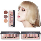 12 Colors Eyeshadow Textured Pallete Faced Matte Pearl Makeup Eye shadow Palette