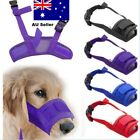 Dog Muzzle Anti Licking Bitting Proboscis Mesh Mask Long nose nasal Mouth Cover