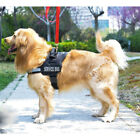 Nylon Comfort Reflective Service Dog Harness Adjustable Vest