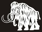 WOOLLY MAMMOTH Decal Sticker Prehistoric Dinosaur Window Car Truck