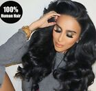 13x4 Lace Frontal 7A Brazilian Remy Human Hair Body Wave Lace Closures for Women