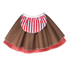 Girls CHRISTMAS Costumes ELF Mrs Claus CANDY CANE Dance SHOW Fancy Dress UK