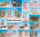 Microwave Hand Body Neck Warmers & Foot Boot Slippers Eye Mask Hot Water Bottle
