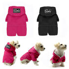 Waterproof Small Dog Clothes Lined Fleece Pet Dog Hoodie Snowsuit Apparel Jacket