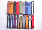 wholesale Nylon casual canvas Watch band Watch Strap OW silver buckle 24color