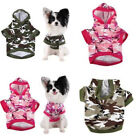 Fashionable Cool Sweater Sleeveless Camouflage Clothes Apparel For Dog Puppy