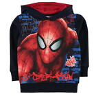 MARVEL SPIDERMAN:2017 HOODY ,2/3,3/4,4/5,5/6,7/8,9/10yr,NEW WITH TAGS
