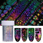 4*100cm Holographic Dreamcatcher Nail Foils Geometric Transfer Stickers Decor