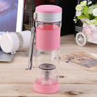 Portable Travel Sport Tea Water Seal Bottle with Filter Strainer 550ml ZN