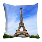 Effel Tower-7 Wonder Of The World Series Cushion Cover Home Décor Throw Case