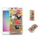 Cartoon Mickey Mouse Head Prints Phone Case Cover For iPhone Samsung LG F15067