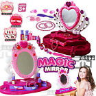 GIRLS PRINCESS GLAMOUR MIRROR DRESSING PLAY TABLE SET MAKEUP KIDS TOY XMAS GIFT
