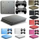 Protective Skin Decal Sticker for Sony PS4 Pro Console & Wireless Controller