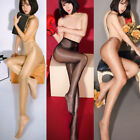shiny pantyhose - Fashion Women Slim Sexy Sheer Oil Shiny Glossy Classic Pantyhose Tights Stocking
