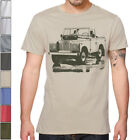 LAND ROVER SERIES II A I III Off Road SOFT Cotton T-Shirt Multi Colors S-3XL