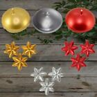 Decorative Floating Candles Disk & Star Shape Gold Red & Silver 15 Pcs