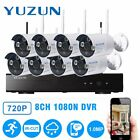 battery powered security camera system - 720P CCTV Security Camera HDMI 8CH DVR Video Home Outdoor IP System LOT MC