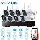 battery powered security camera system - YUZUN 1080N 8CH 720P Home Security Camera CCTV Surveillance System LOT MC
