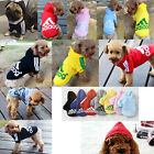 Pet Dog Clothes Cat Puppy Hoodies Coat Winter Sweatshirt Warm Sweater Jacket