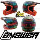 Answer Racing Helmet AR-3 Haze 2018 Orange Red