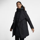 Asian Size Nike Sportswear AeroLoft 2-in-1 854745-010 Black Women's Parka