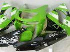 Aftermarket ABS Fairing Set for Kawasaki Ninja ZX9R 98 99 Tank pad K42-G