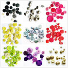 20PCS Round Resin 4 Holes Sewing Buttons  DIY Sewing Craft Size 8mm to 40mm