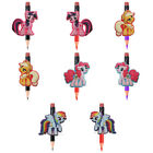 8-9pcs/lot My Little Pony Pencil Toppers DIY School Stationery Kids Xmas Gifts