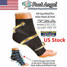 US Foot Anti Fatigue Angel Ankle Pain Relief Sleeve Compression Swelling Socks